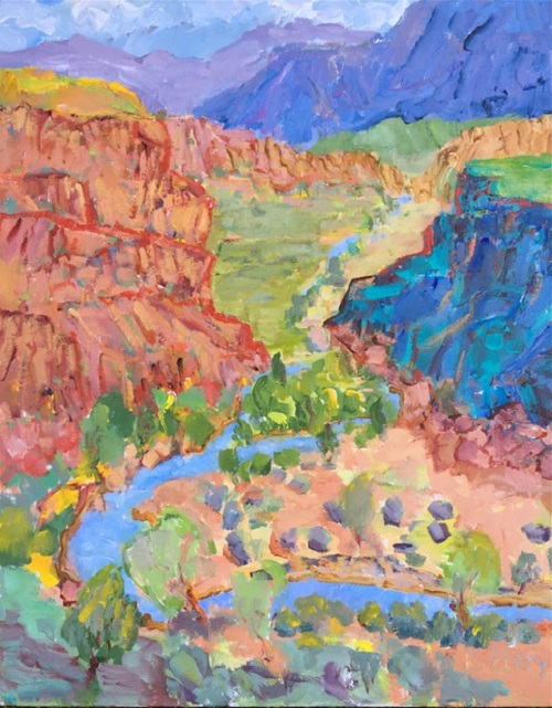 Kathleen Elsey - Chama River Valley