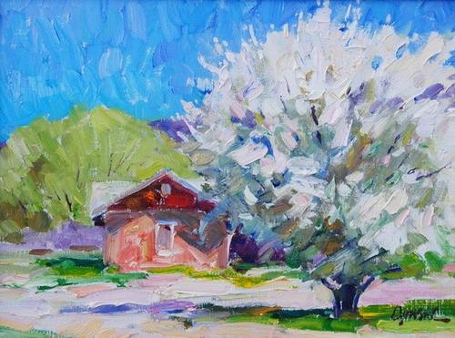 Walt Gonske - Apple Blossoms