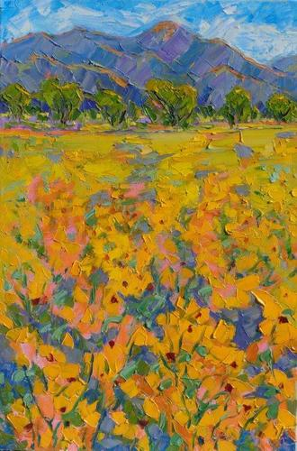 Sunflower Meadow at Taos Mountain