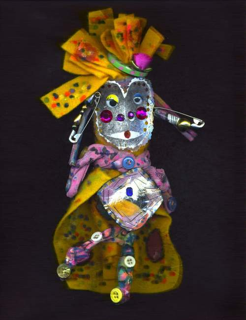 Taos Spirit Doll by Donna Kuhn