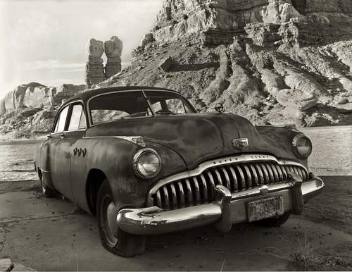 1956 Buick Eight, Bluff, Utah    Archival Carbon Pigment Print