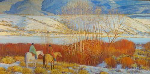 SOLD   Red Willow Winter