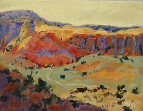Ghost Ranch Valley
